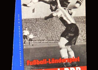 East Germany v England 02.06.1963