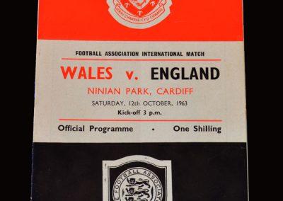 Wales v England 12.10.1963