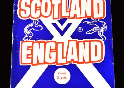 """Scotland v England 11.04.1964 (Welcome to Scotland Alf """"You must be f**ing joking!"""")"""