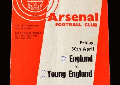 England v Young England 30.04.1965