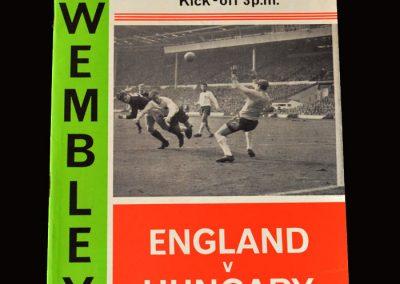 England v Hungary 05.05.1965