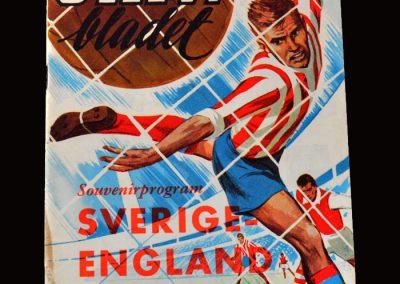 Sweden v England 16.05.1965