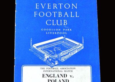 England v Poland 05.01.1966