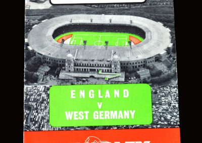 England v West Germany 23.02.1966 (Hurst comes in)
