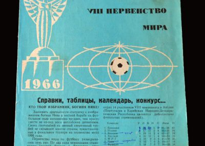 Soviet Union World Cup Guide