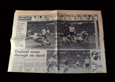 World Cup Final Newspaper Reports