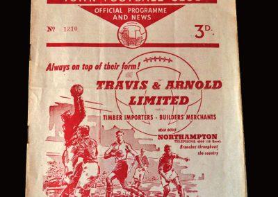 Gateshead v Northampton 19.09.1959