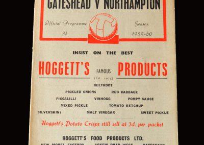 Gateshead v Northampton 06.02.1960