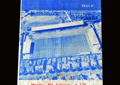 Peterborough v Arsenal 08.02.1960