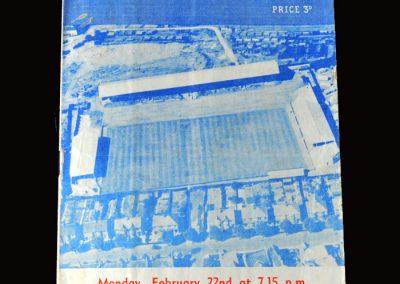 Peterborough v West Ham 22.02.1960