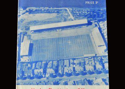 Peterbrough v Blackpool 21.03.1960