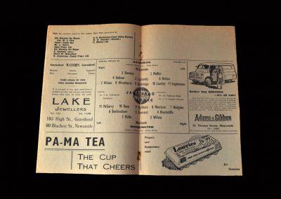 Gateshead v Workington 28.03.1960