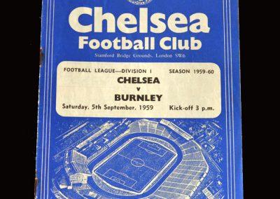 Burnley v Chelsea 05.09.1959