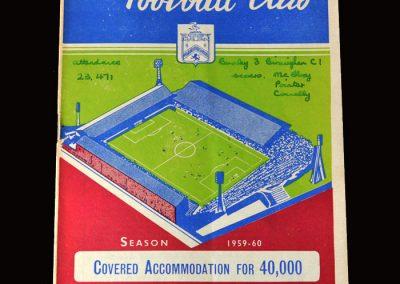 Burnley v Birmingham 26.09.1959