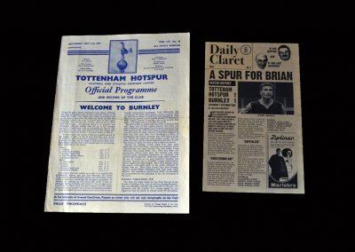 Burnley v Spurs 03.10.1959