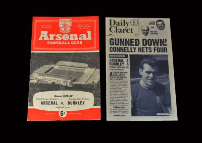 Burnley v Arsenal 12.12.1959