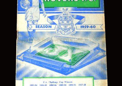 Burnley v Blackburn 16.03.1960 (FA Cup Round 6 Replay)