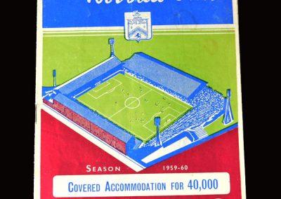 Burnley v Sheff Wed 02.04.1960