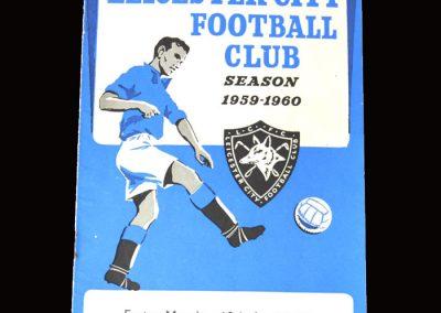 Burnley v Leicester 18.04.1960