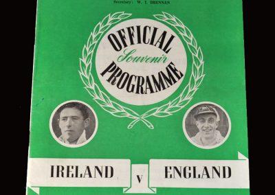 Northern Ireland v England 07.10.1950