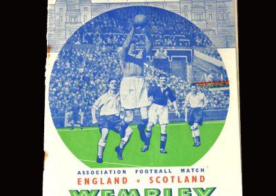 England v Scotland 14.04.1951