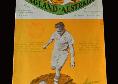 England v Australia 07.07.1951 4-1