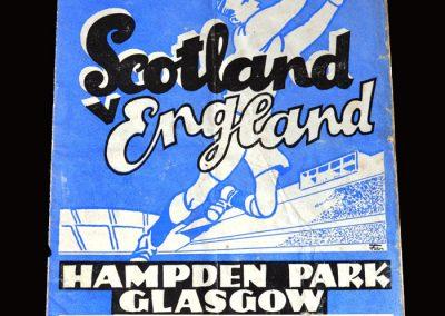 Scotland v England 05.04.1952
