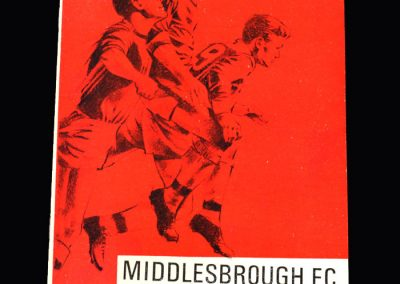 Middlesbrough v York City 24.08.1966 (League Cup Round 1)