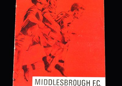 Middlesbrough v Oldham 10.09.1966