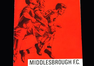 Middlesbrough v Grimsby 12.11.1966