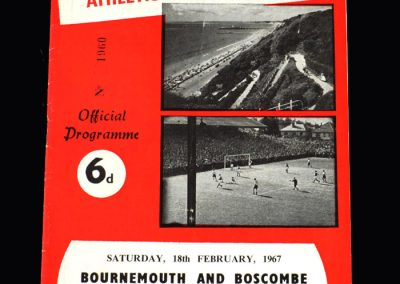Middlesbrough v Bournemouth 18.02.1967