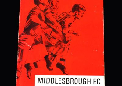 Middlesbrough v Watford 25.02.1967