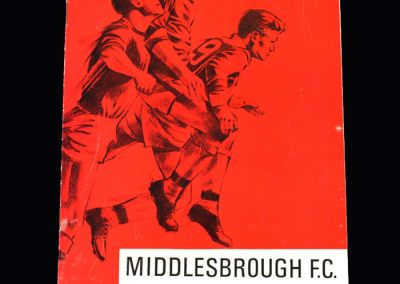 Middlesbrough v Walsall 15.04.1967