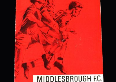 Middlesbrough v Oxford 16.05.1967 (DT locked out)