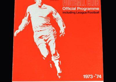 Middlesbrough v Swindon 06.10.1973