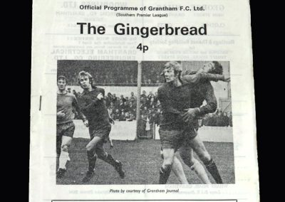 Middlesbrough v Grantham Town 05.01.1973 (FA Cup Round 3)