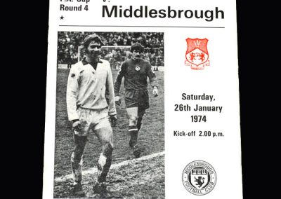 Middlesbrough v Wrexham 26.01.1974 (FA Cup Round 4)