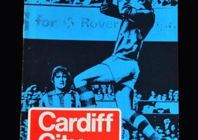 Middlesbrough v Cardiff 13.04.1974