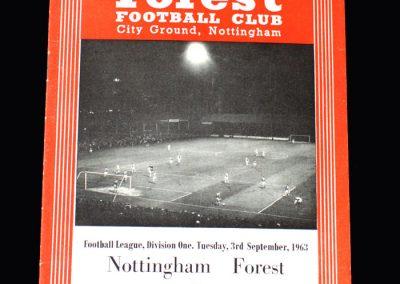 Liverpool v Notts Forest 03.09.1963