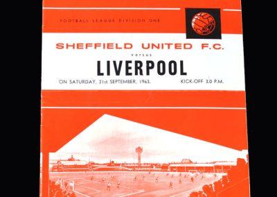 Liverpool v Sheff Utd 21.09.1963