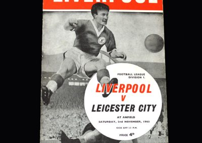 Liverpool v Leicester 02.11.1963