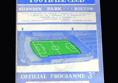 Liverpool v Bolton 09.11.1963