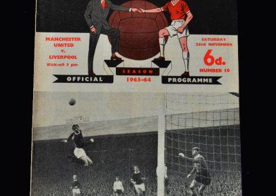 Liverpool v Man Utd 23.11.1963