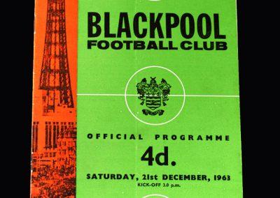 Liverpool v Blackpool 21.12.1963