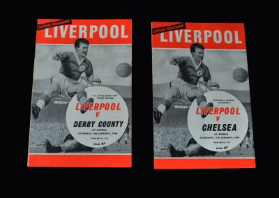 Liverpool v Derby 04.01.1964 (FA Cup 3rd Round) | Liverpool v Chelsea 11.01.1964