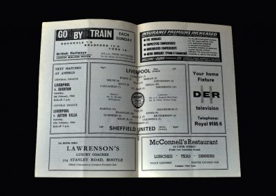 Liverpool v Sheff Utd 01.02.1964