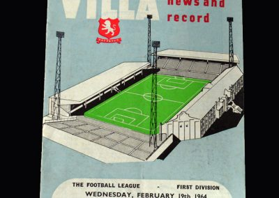 Liverpool v Aston Villa 19.02.1964