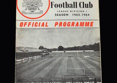 Liverpool v Fulham 14.03.1964