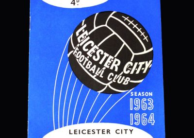 Liverpool v Leicester 30.03.1964