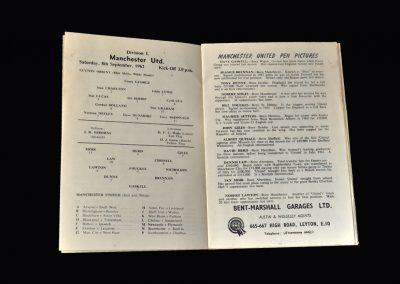 Orient v Man Utd 08.09.1962